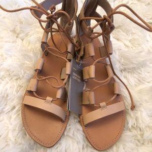 H&M leather Gladiator sandals